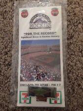 Colorado Rockies 1994 Lapel Pin Series #7 Final Game Mile High Stadium