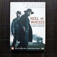 HELL ON WHEELS - HET COMPLETE EERSTE SEIZOEN - 3 DVD BOX (VERSION FRANCAIS INCL)