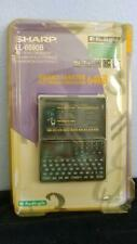Sharp EL-6690B Electronic Organizer 64KB Memory 3 Line Display Memo Master NEW
