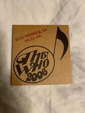 The Who 2006 Encore Series Des Moines IA 09-26-06 2 CDs