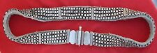 VINTAGE ANTIQUE TRIBAL OLD SILVER JEWELLERY BELT INDIA