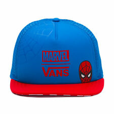 1ced69527e Vans Off the Wall Marvel Spidey Spiderman Trucker Hat Cap Christmas Gift  Checker