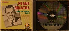 LIVE ON STAGE VOL. 1 - FRANK SINATRA  (CD P 162)