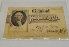 1870's CELLULOID MANUFACTURING COMPANY.TRADE CARD,Very Rare.made of celluloid