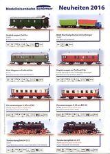catalogo SCHIRMER Modelleisenbahn 2015 Neuheiten Spur TT       D           aa