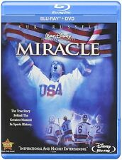 MIRACLE (Kurt Russell, Disney) -  Blu Ray - Sealed Region free