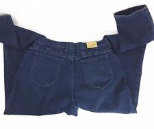 Retro Lee Jeans Womens 18 MOM 34x33 relaxed fit tapered leg high waist Dark Wash