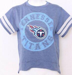 NEW Tennessee Titans NFL Team Apparel Blue High Low SS Tee Shirt Women's M