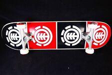 Skateboard Element Complete 8.0 SAF Titanium Trucks Quadrant Abec 9 Bearings