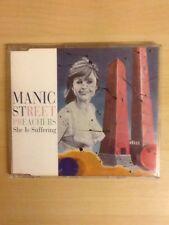 "MANIC STREET PREACHERS-1994 CD PROMO-SHE IS SUFFERING (7"" EDIT)-UNIQUE INNER-M/U"