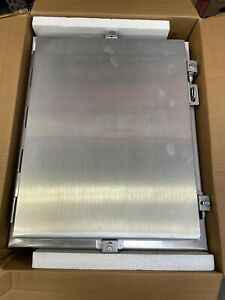 Hammond 1418N4ALC6LP Electrical Enclosures N4X Wallmount Encl 20x16x6 Aluminum