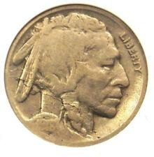 1918/7-D Buffalo Nickel 5C - ANACS G4 - Rare Overdate Variety Coin - $830 Value!