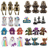 Three 3 Wise Skeletons Unicorns Dragons Monks Buddhas See No Evil Nemesis Now
