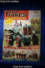 Oldtimer Traktor 9-10/08 Hanomag Robust 800 Zetor 5er Lindner Beilhack Unimog