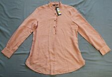 M&S Marks & Spencer Women's Dusted Pink Blouse Top Size 10 New With Tags