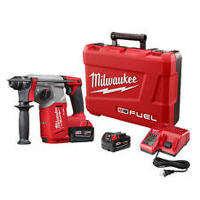 Milwaukee 2712-22 M18 FUEL 18V Cordless Lithium-Ion 1 in. SDS Plus Rotary Hammer