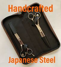 """PAUL MITCHELL / JAPANESE VG10 STEEL / HAND CRAFTED / SHEAR / THINNER 6"""" SET"""