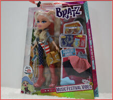 Bratz Music Festival Vibes Doll + 2 Outfits - American Country Angel  CLOE *NEW*