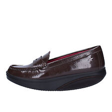 women's shoes MBT 6 / 6,5 (EU 37) loafers brown patent leather AC848