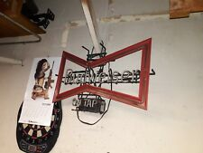 Budweiser On Tap Vintage Neon Bow Tie Sign