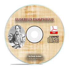 Eusebius Pamphilus, Early Christian Church History, Christianity PDF CD H05