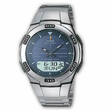 Casio Wva-105hde-2aver Mens Waveceptor Radio Digital Stainless Steel Watch