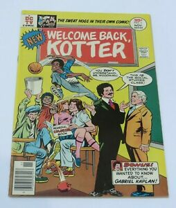 Welcome Back Kotter #1 NM/NM+ 9.4~9.6 DC Comic Book Movie TV Pop Culture 1976
