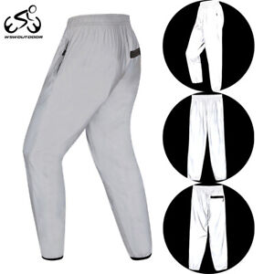 Men's Cycling Casual Pants 360 Reflective Hip Hop Jogging Night Safe Trousers