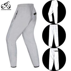 Men Women Casual Pants Night Reflective Hip Hop Cycling Jogging Safe Trousers