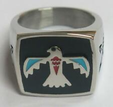 DELUXE BALD EAGLE SYMBOL BIKERS RING #100R Fashion mens womens new unisex EAGLES