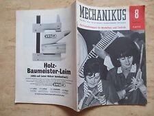 +++Mechanikus Ein Freizeitmagazin für Modellbau und Technik August 1967+++