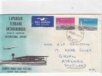 malasia malacca stamps cover  ref 12191