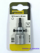 10 mm No 23355 PROXXON 1//2/'/' Tiefbett-Steckschlüsselsatz
