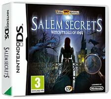 Hidden Mysteries: Salem Secrets Witch Trails of 1692 (Nintendo DS) - Game  04VG