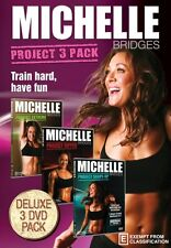 Michelle Bridges: Project 3 Pack (Extreme / Ripped / Shape-Up) * NEW DVD *