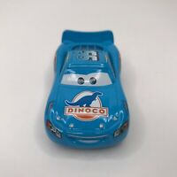Disney Pixar Cars Dinoco Blue Lightning McQueen #95 Diecast Vehicle Loose