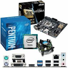 INTEL Pentium G4400 3.3Ghz & ASUS H110M-A - Motherboard & CPU Bundle