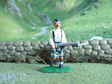 Armies in plastic Boxer rebellion Highlander advancing 1:32 painted
