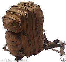 Army Molle Tactical ASSAULT BACK PACK 30L 50L KHAKI OLIVE DIGICAM School Hiking