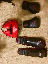 Sparring gear black/Red