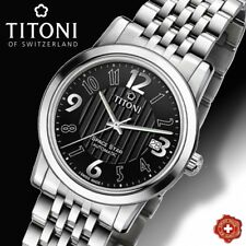 TITONI, AUTOMATIC ETA 2824-2,  SPACE STAR MODEL 83738 S-369, SWISS MADE