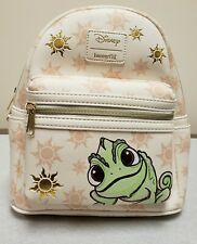 New Loungefly Disney Tangled Rapunzel Pascal Sun Mini Backpack NWT
