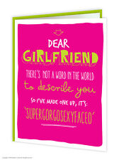 Brainbox Candy Girlfriend Birthday Greeting Cards rude funny joke humour quirky