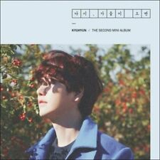 SUPER JUNIOR KYUHYUN [FALL ONCE AGAIN] 2nd Mini Album CD+FotoBuch+Karte SEALED