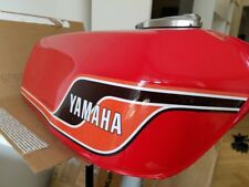 YAMAHA RD400 1977 1978 1979 New Never Used Fuel Tank With Chromed Cap RED N.O.S