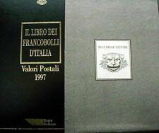 Italia Libro dei francobolli 1997 Buca delle lettere Completo DI francobolli