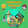 Pokémon ORAS / XY – COMPETITIVE AEGISLASH 6IV's Shiny / No Shiny