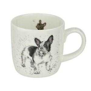 Wrendale French Bulldog Dog Mug Fine China