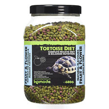 Komodo Complete Holistic Tortoise Diet Fruit and Flower 680g Food Tub