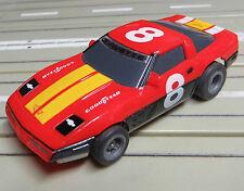 For H0 Slotcar Racing Model Railway Corvette with Tomy Suspension